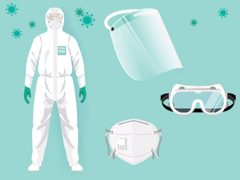 I Dispositivi di Protezione Individuale contro il diffondersi del covid-19